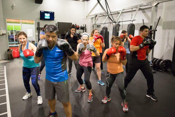 Team Kick Boxing Class